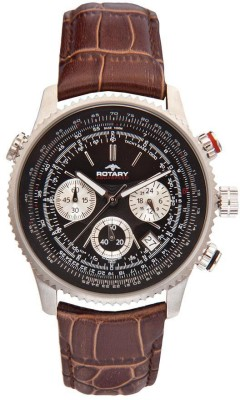 Rotary GS0010004BRN Analog Watch  - For Men