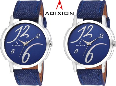 Adixion 1015SLB4B4 New Combo Leather Strep Watches Analog Watch  - For Boys & Girls