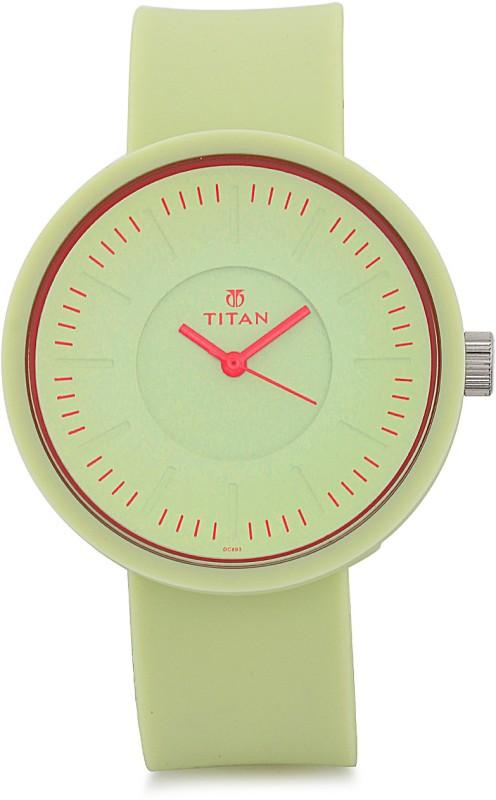 Titan 9953PP04J Analog Watch For Women
