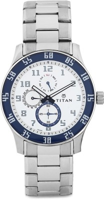 Titan 1632SM01 Octane Analog Watch - For Men