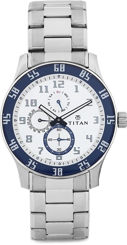 Titan 1632SM01 Octane Analog Watch For Men