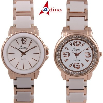 Adino Casino Q14 Analog Watch  - For Girls