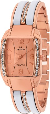 Marco Mr-Lsq090-Gld- Jewel Analog Watch  - For Women