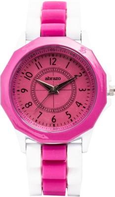 abrazo AB-WT-SL-PLN-PN Analog Watch  - For Women