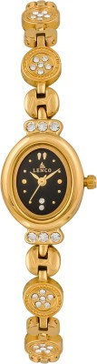 Lenco 3772B Gold Analog Watch  - For Women