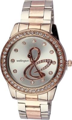 Wellington 302_white sooms Analog Watch  - For Women