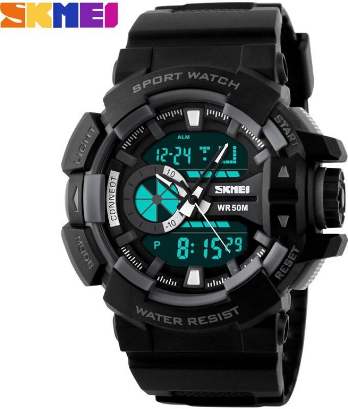 Skmei Marks 1117 Blk Sports Analog Digital Watch For Men