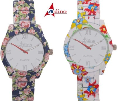 Adino Casino Valentine Q10 Analog Watch  - For Girls