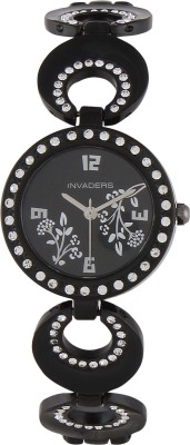 Invaders 67549-BSBLK Beauteous Analog Watch  - For Women