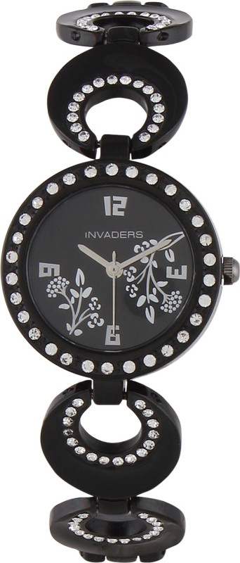 Invaders 67549 BSBLK Beauteous Analog Watch For Women