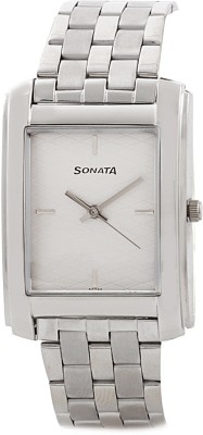 Sonata ND7953SM01 Classic Analog Watch - For Men