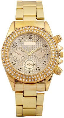 Just In Time Paidu Gold Analog Watch  - For Men, Boys, Women, Girls