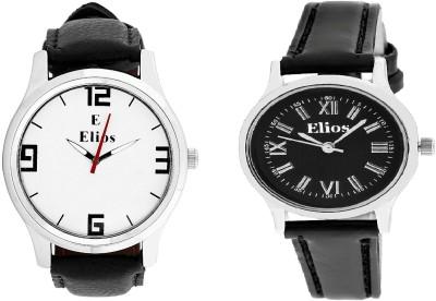 Elios Charming Fashionable Combo Analog Watch  - For Men, Women