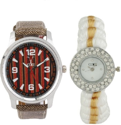 Lime AVW-27lady-05 Analog Watch  - For Couple