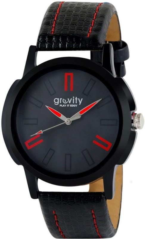Gravity GVGXBLK25 Analog Watch For Men