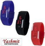 Yashmit Digital Led BLUE BLACK RED Band ...