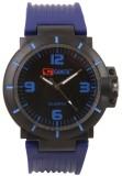 Gansta GT106-2-Blk-Blu Analog Watch  - F...