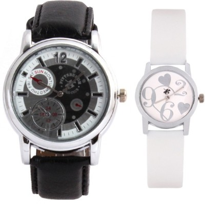 Pittsburgh Polo Club PBPC-CB-9186 Analog Watch  - For Couple
