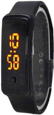 Solomon SOBLAKBOND01 Digital Watch  - For Boys, Men