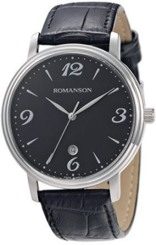 Romanson TL4259MM1WA32W Swiss Quartz Analog Watch For Men
