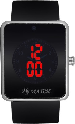dazzle DL-LED02-WHTRD Digital Watch  - For Men