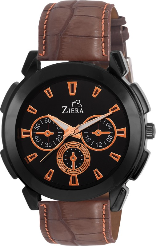 Ziera ZR7024 Special dezined collection Brown fastrack ed Leather