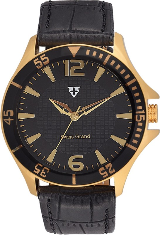Swiss Grand SSG 0809Black Analog Watch For Men