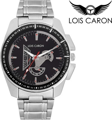 Lois Caron LCS-4080 DATE AND DAY PATTERN Analog Watch  - For Boys, Men