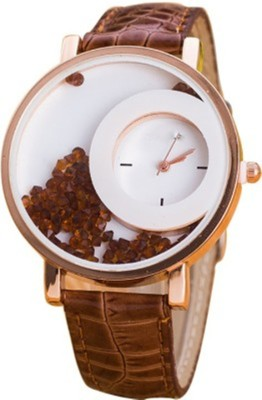 Shree Vallabh Mxre brown Analog Watch  - For Women