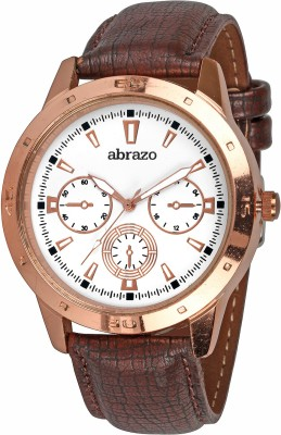 abrazo CRONO-2-WH Analog Watch  - For Boys, Men