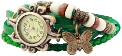 Ely Crazy Butterfly_Vintage Analog Watch  - For Girls, Women