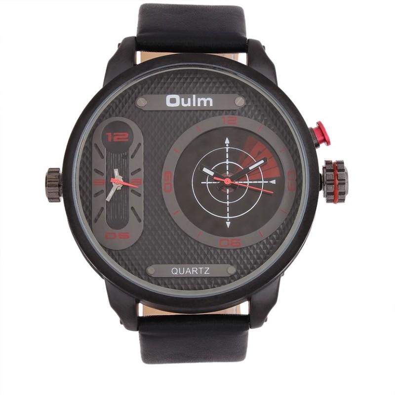 Oulm HP3221BRE Analog Digital Watch For Men