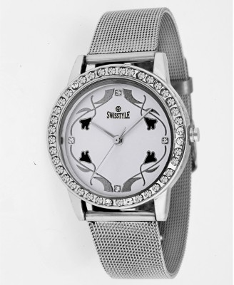 Swisstyle SS-LR1210 Diamond Analog Watch  - For Women