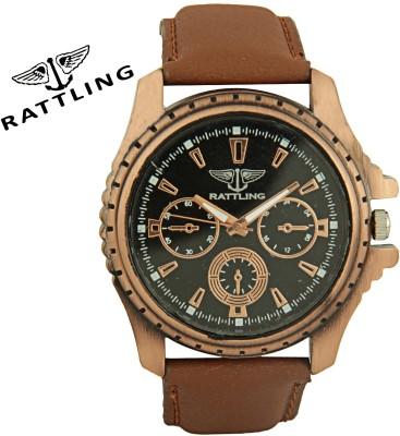 Rattling IND-TW000G714 Octane Ultimate Pattern Analog Watch  - For Men, Boys