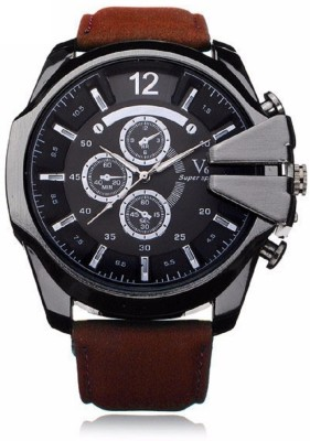 V6 Big Dial Stylish Analog Watch  - For Men