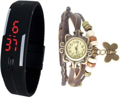 Thump T2437 Analog-Digital Watch  - For Men, Boys, Girls