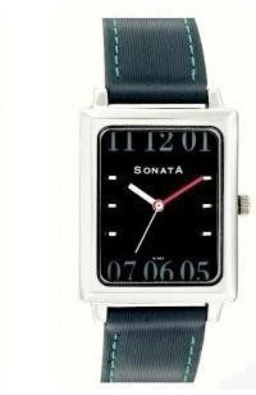 Sonata NG7078SL02C Analog Watch For Men