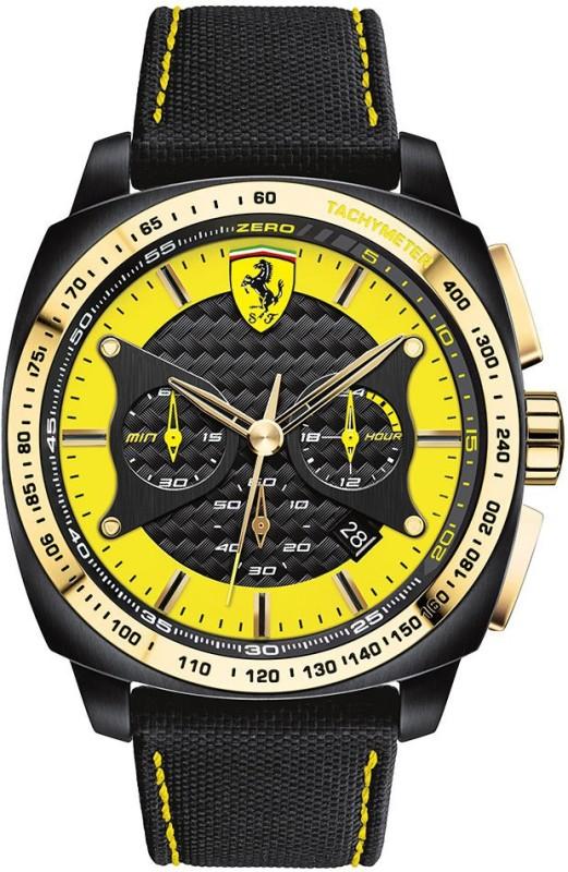 Scuderia Ferrari 0830291 Aero Evo Analog Watch For Men