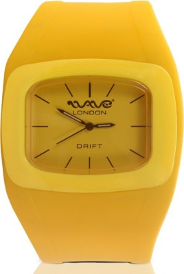 Wave London Wave London Drift Yellow Watch (Wl-Dft-Y) Drift Analog Watch  - For Women