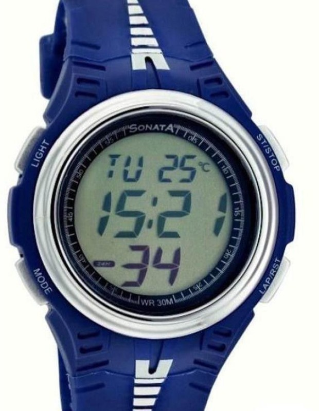 Sonata NH7965PP01 Digital Watch For Men