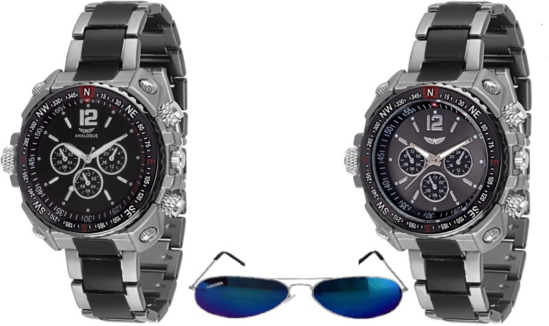 Analogue ANLG 211nd1SUNGLASSESnd211 COMBO OF FUTURE Analog Watch