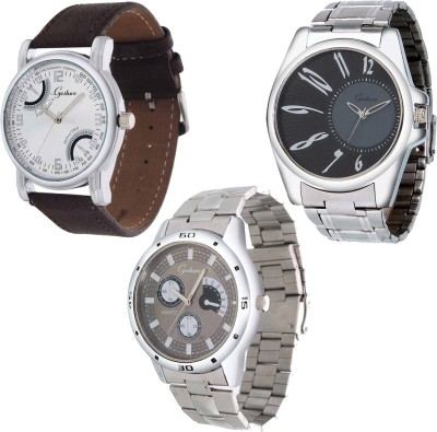 Gesture Combo 111 Modest Analog Watch  - For Men