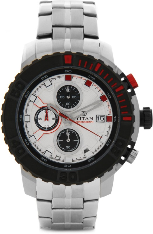 Titan 90029KM03 Analog Watch For Men