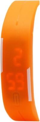 KMS MegnetBelt_OrangeLed Digital Watch  - For Men, Women, Boys, Girls