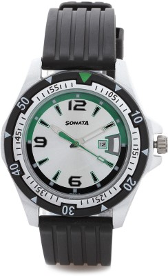 SF 7930PP07 Superfibre Analog Watch  - For Men