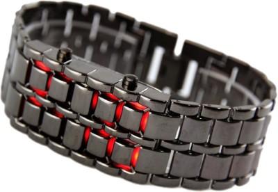 Gade LED Bracelet red Digital Watch  - For Men