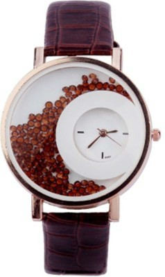 jay gopal fashion Mxre brown moon Analog Watch  - For Women