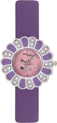 Minuut MNT-031-L-PPL Analog Watch  - For Women