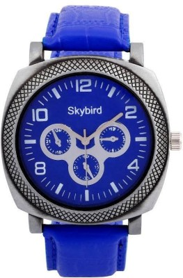 SKYBIRD Blue Crono Analog Watch  - For Men