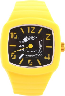 Madison New York U46102 Analog Watch  - For Men, Women